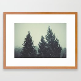 sweather weather  Framed Art Print