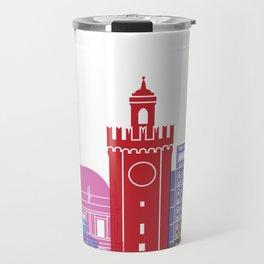 Brescia skyline pop Travel Mug