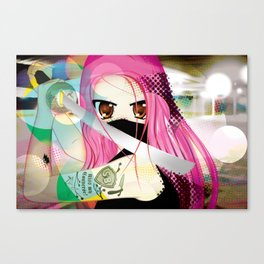 Swordfighter Canvas Print
