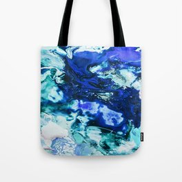 Liquid Abstract Tote Bag