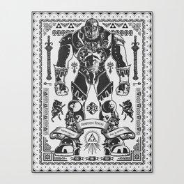 Legend of Zelda Ganondorf the Wicked Canvas Print