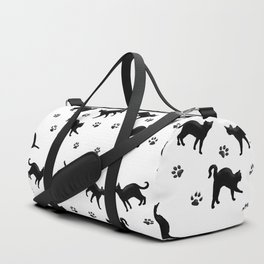 Black Cats Duffle Bag