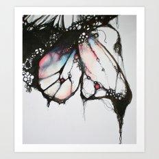 Bubble Wing Art Print