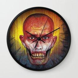 Portrait - Zombie Head John Wall Clock