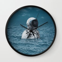 lost at sea Wall Clock