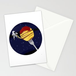 Space Spaghetti Stationery Cards