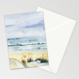 Beach is Calling Stationery Cards