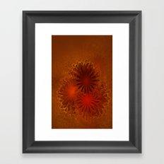 Fractal Flowers Framed Art Print