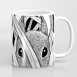 Bunny in the Grass Coffee Mug