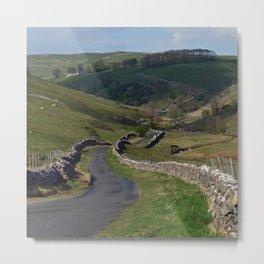 Kettlewell to Leyburn Road Metal Print