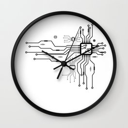 CPU Heart Wall Clock