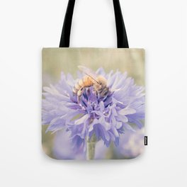 Anatomy of a Bee: Purple and Bee.3 Tote Bag