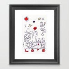 Time for Love Framed Art Print