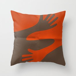 A·BRAZO - HUG Throw Pillow