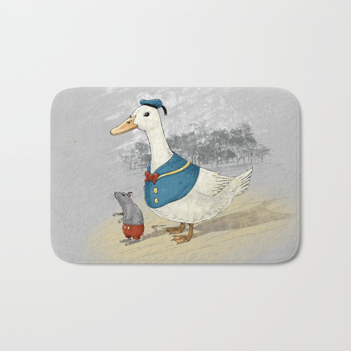 Donald and Mickey Bath Mat