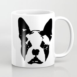 CHRISTMAS GIFTS for the Boston Terrier lover from MONOFACES in 2020 Coffee Mug