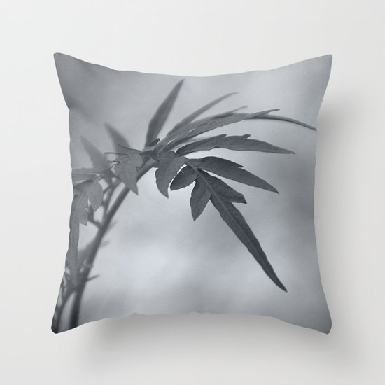 Let me touch you Throw Pillow