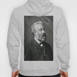 portrait of Jules Verne by Nadar Hoody