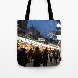 Tokyo Street Tote Bag