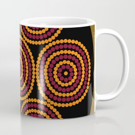 Aboriginal Cycle Style Painting Coffee Mug