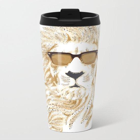 'king Cool Metal Travel Mug