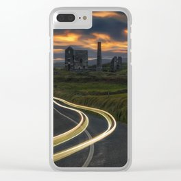 Remians Of The Past Clear iPhone Case