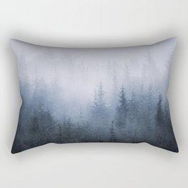 Misty fantasy forest. Rectangular Pillow
