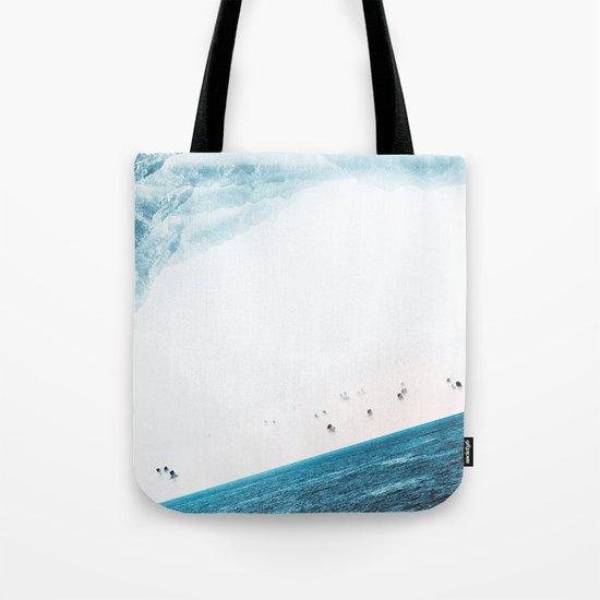 Teal Swim Tote Bag