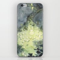 the lights iPhone & iPod Skins featuring Lights by Paola Cocchetto