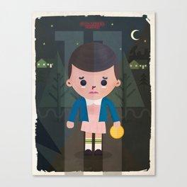 Stranger Things fan art Canvas Print