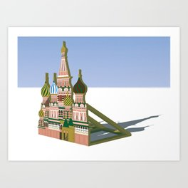 Russia Is A Marginal Power Art Print