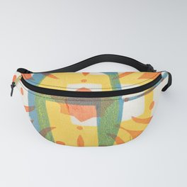 Print in colour Fanny Pack