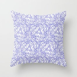 *INDIGO_PATTERN_1 Throw Pillow