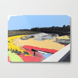 River Rother in Rye Metal Print