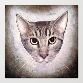 Cat #2 (Sid) Canvas Print