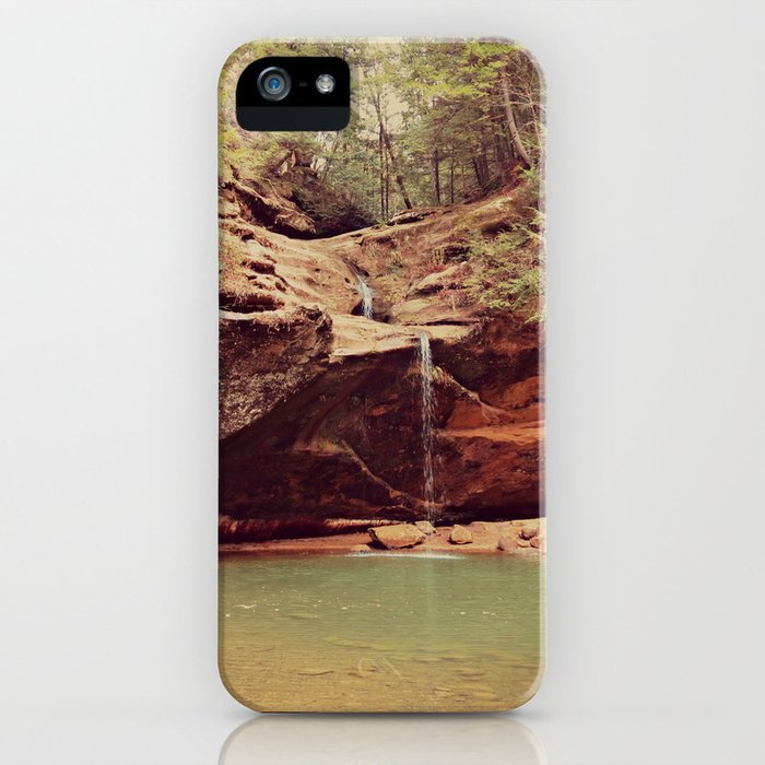 Falls in the Forest iPhone Case