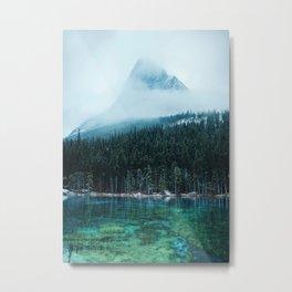 Grassi Lakes III Metal Print
