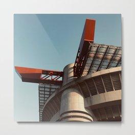 Architecture photography, San Siro Stadium, italian Serie A, sport building, stadio Giuseppe Meazza, sports Metal Print