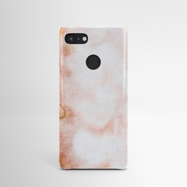 stained fantasy reddish veins Android Case
