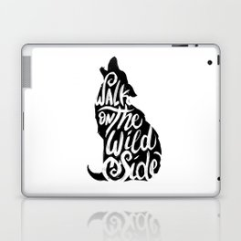 Typo Wolf Laptop & iPad Skin