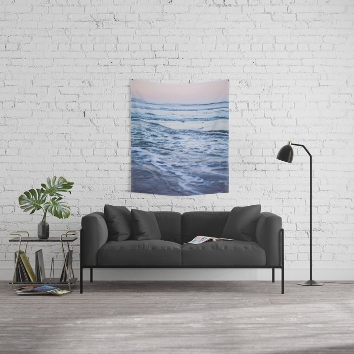 Pacific Ocean Waves Wall Tapestry