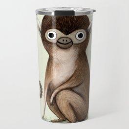 Squirrel Monkey Travel Mug