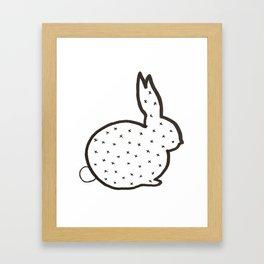 XX Bun Framed Art Print