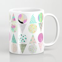 psychedelic Mugs featuring Psychedelic by Catalina Montaña