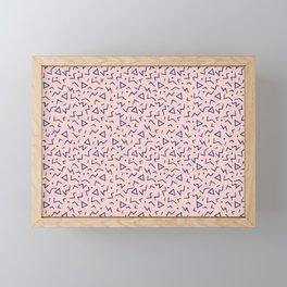 Memphis Pattern 12 - 80s Retro Framed Mini Art Print