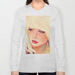 Meuf blonde Long Sleeve T-shirt