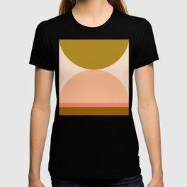 Abstraction_Mountains_Balance_ART_Landscape_Minimalism_001B T-shirt