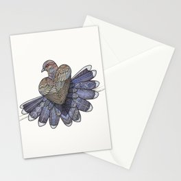 Turtle Dove Stationery Cards