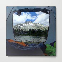 Tent View Metal Print