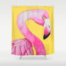 Slinky Flaminky Shower Curtain